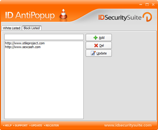 ID AntiPopup Screenshot