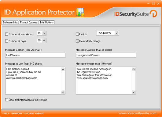 ID Application Protector Screenshot