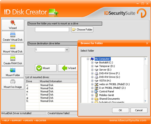 ID Disk Creator Screenshot