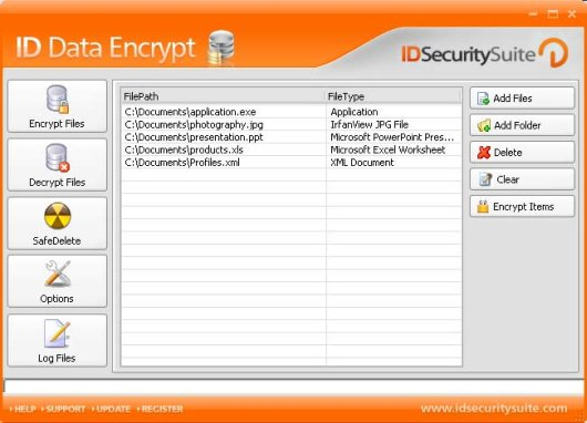 ID Data Encrypt is a high quality encrypting program to secure your files.