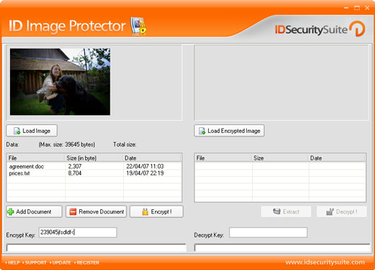 Click to view ID Image Protector 1.2 screenshot
