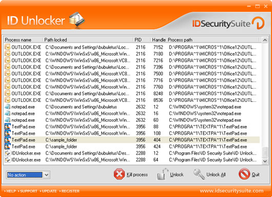 ID Unlocker unblock access to locked files.